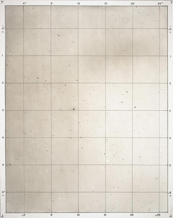 Maximilian Franz Josef Cornelius Wolf, Star Map, from the album Photographische Sternkarten (Photographic Star Maps), 1903, Accessions Committee Fund