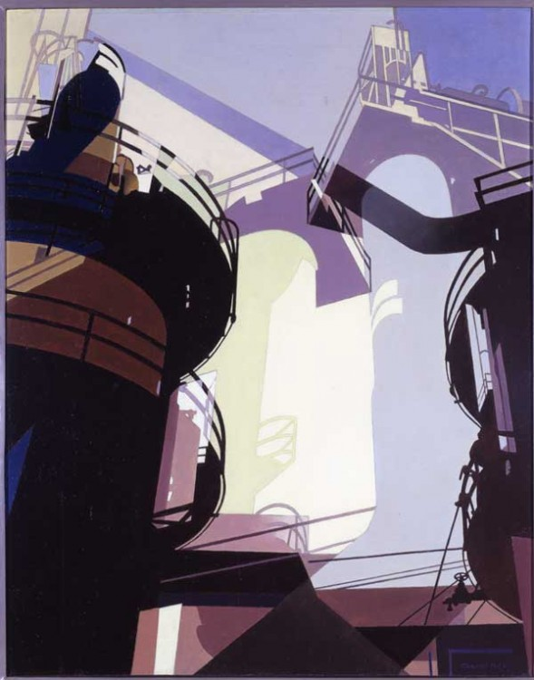 Charles Sheeler, Aerial Gyrations