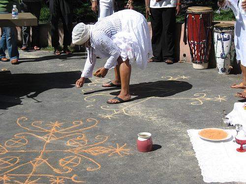 Drawing Down Spirits: Sacred Ground Markings of Vodou in San Francisco