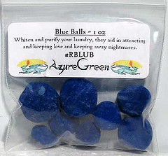 Nobody is endorsing this particular brand of magical blue cleansing balls.