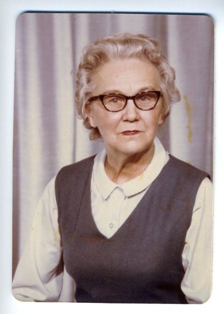 Grandma McGuire, photographer unknown