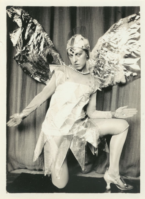 Claude Cahun (Lucy Renée Mathilde Schwob), Le Mystère d'Adam (The Mystery of Adam), 1929; gelatin silver print; Collection SFMOMA, Fractional and promised gift of Carla Emil and Rich Silverstein © Estate of Claude Cahun