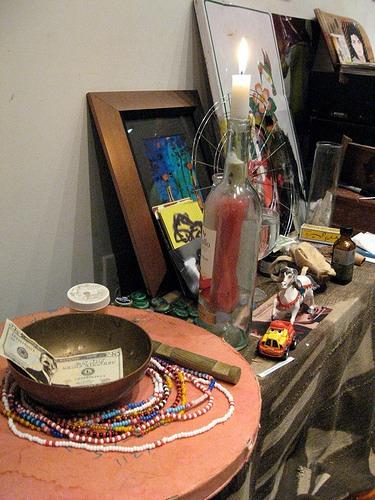 Beads for African spirits (elekes)