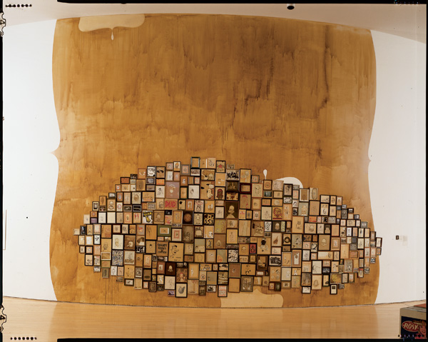 Barry McGee, _Untitled_, 1996. Mixed media.