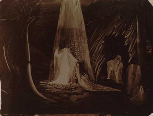 Dr. William J. Pierce, _Spirit Photographs_, 1903. Gelatin silver print.