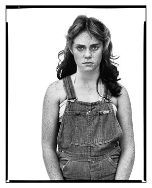 Sandra Bennett, twelve year old, Rocky Ford, Colorado, August 23, 1980, by Richard Avedon
