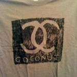 Rare Coconut T-shirt by Lart Cognac Jr. and Simon Evans