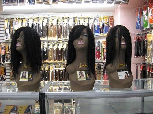 Black Mannequin Heads