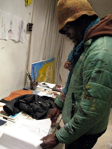 Githinji Wambire's West Oakland Studio Part 2