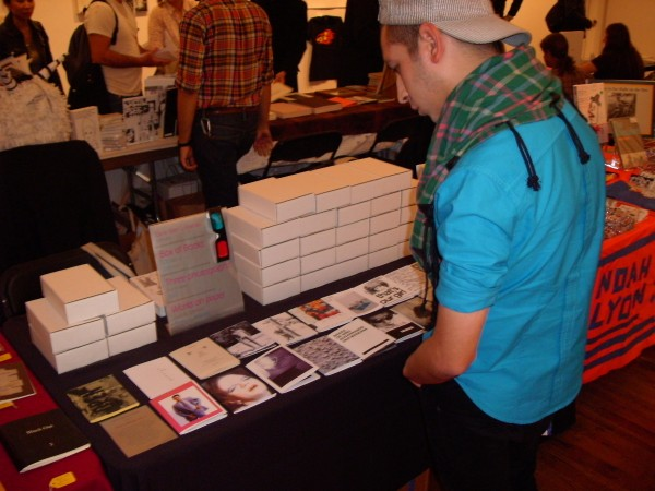 Box of Books Vol. II at Printed Matter's New York Art Book Fair, 2009