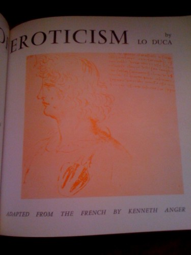 Brought To Ghosts: Notes on Kenneth Anger