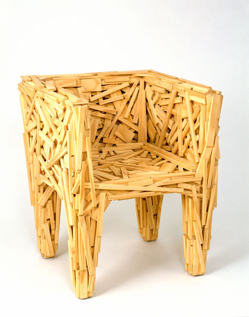 Darrin Alfred on Fernando and Humberto Campana's Favela Chair