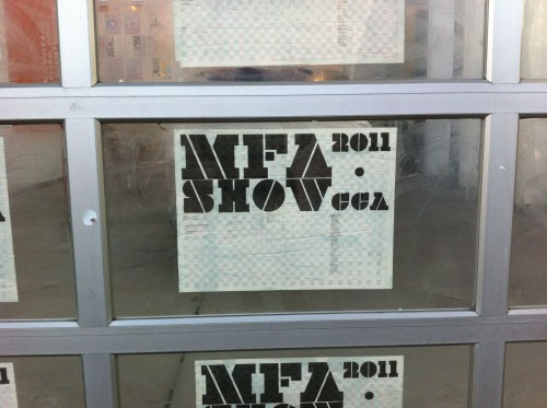 Art School Confidential 2: The MFA Show