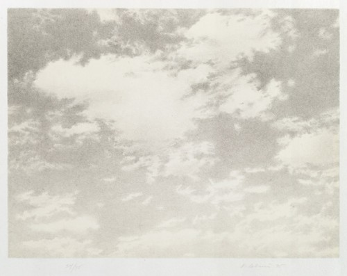 Vija Celmins, _Untitled (Sky), from the portfolio Untitled, 1975_, 1975