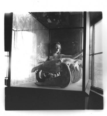 Francesca Woodman, Space², 1975-1976, gelatin silver print, courtesy George and Betty Woodman, © George and Betty Woodman.