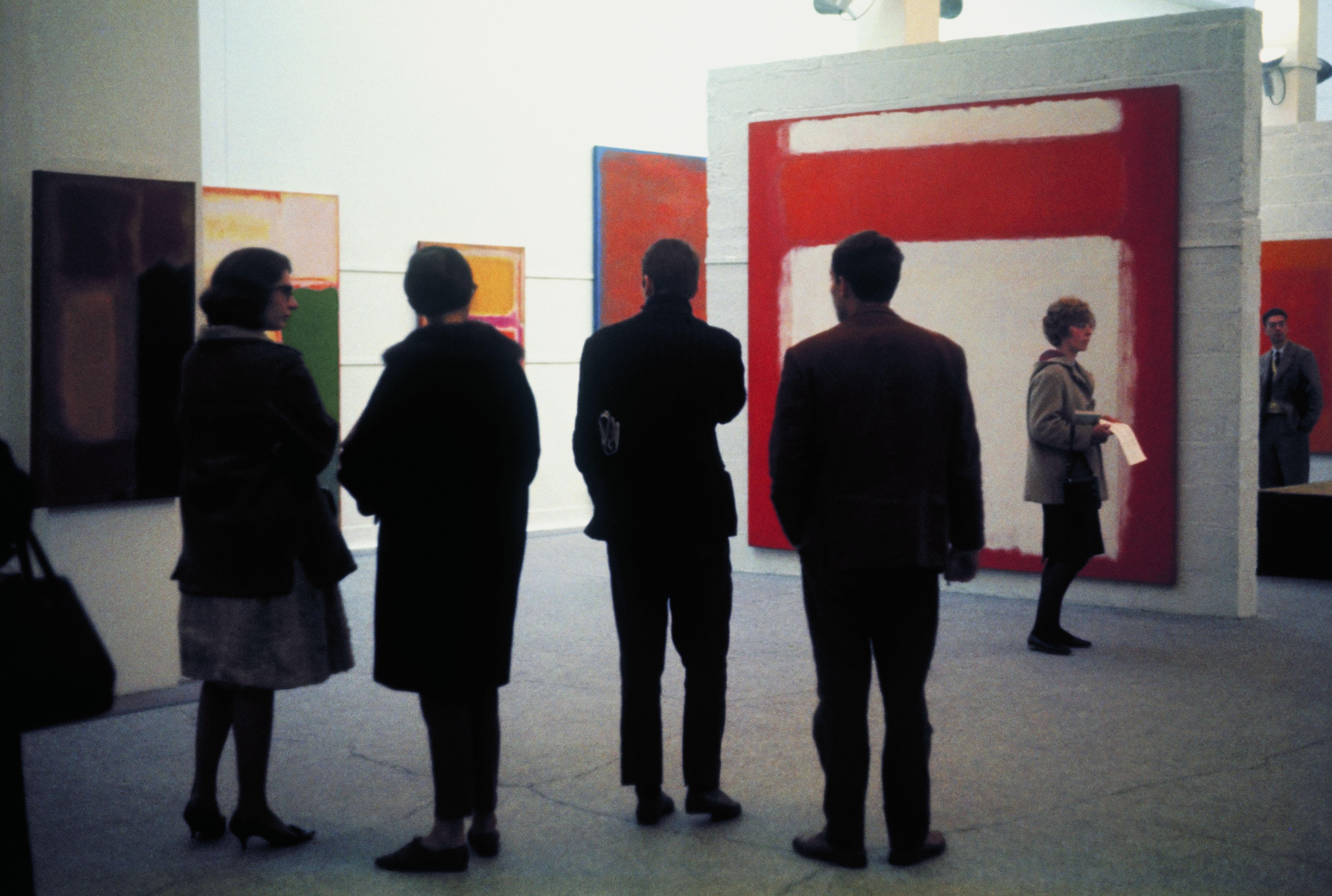Mark Rothko 1961, Whitechapel Gallery. Photograph: Sandra Lousada