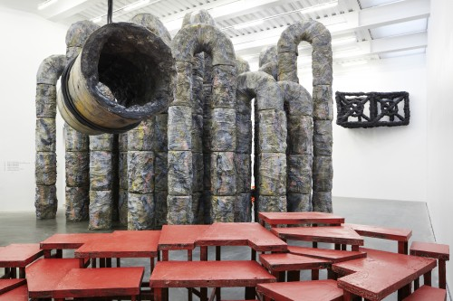 Siege, 2012, installation view; Courtesy of the Artist and the New Museum.
