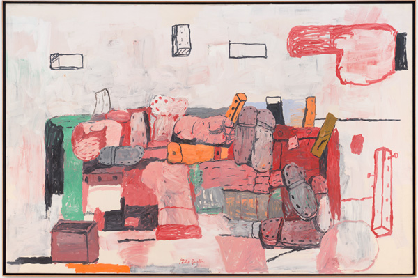 Philip Guston, Evidence, 1971