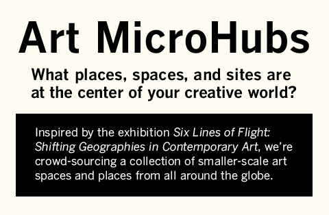 Art MicroHubs LIVE: Join us tomorrow, at NOON, online