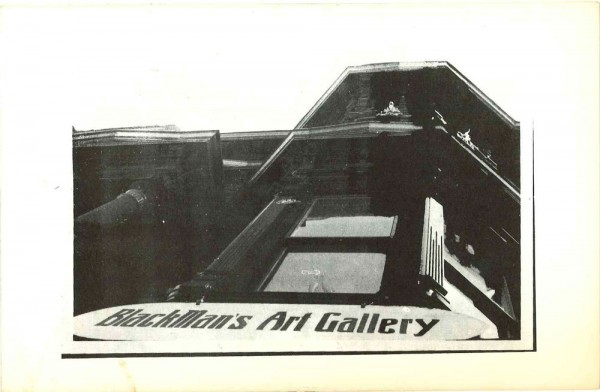 Receipt of Delivery: BlackMan's Art Gallery