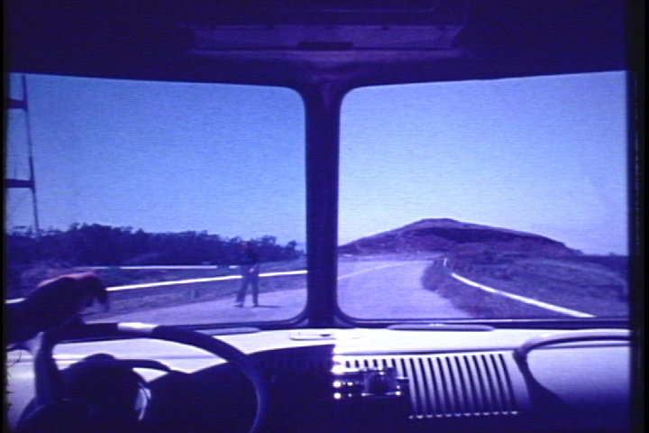 Al Wong, _Twin Peaks_, 1977, 16mm transferred to video, sound, courtesy the artist