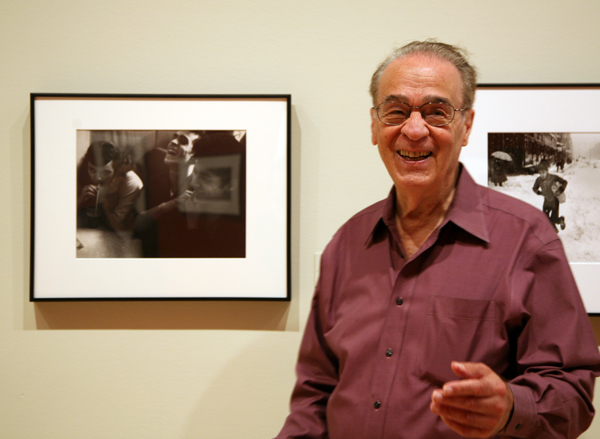 Nick Biondi, in the SFMOMA galleries, on May 29th, 2013.