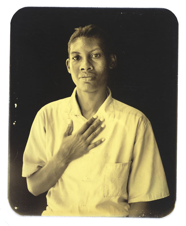 Deborah Luster, L.C.I.W. 97, from the series One Big Self: Prisoners of Louisiana, 2000