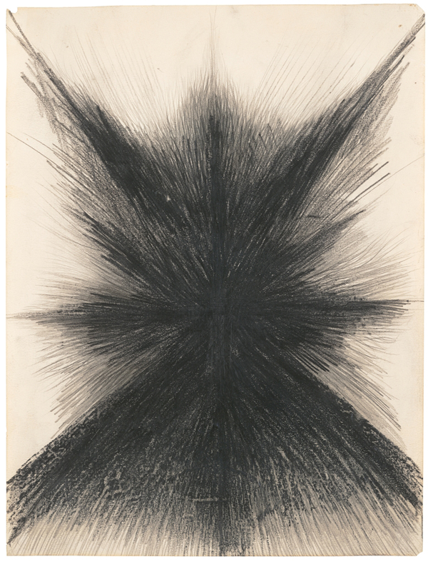 Jay DeFeo, Untitled, ca. 1957