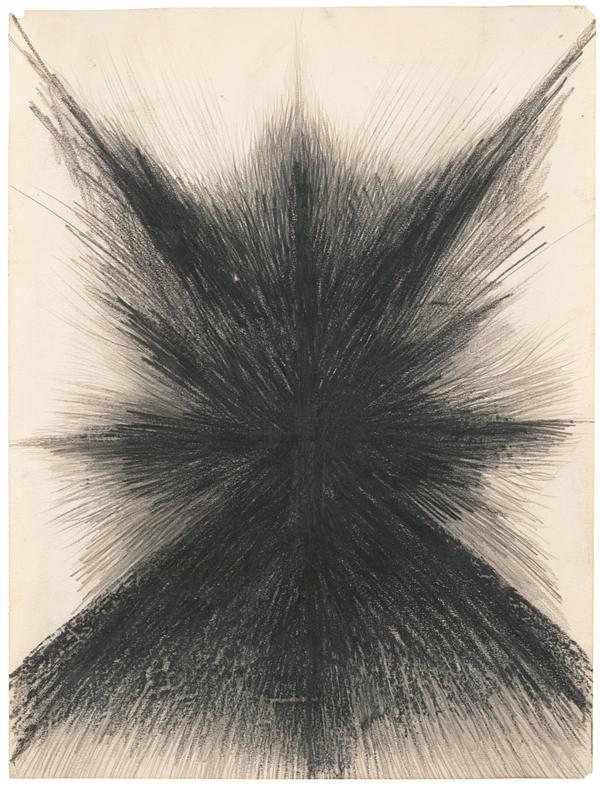 Jay DeFeo, Untitled, ca. 1957