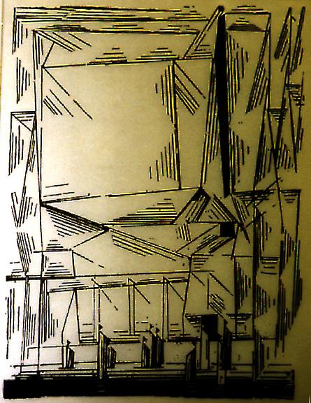 Lyonel Feininger, Gelmeroda, 1938