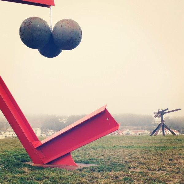 Mark di Suvero's Friendly Giants