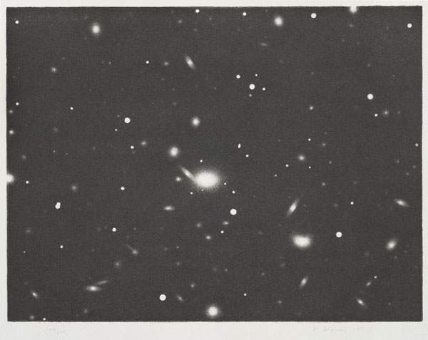 Vija Celmins, Untitled (Galaxy), from the portfolio Untitled, 1975, 1975vija celmins_web