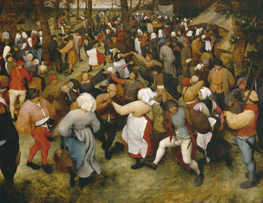 The Wedding Dance Pieter Bruegel the Elder, 1566
