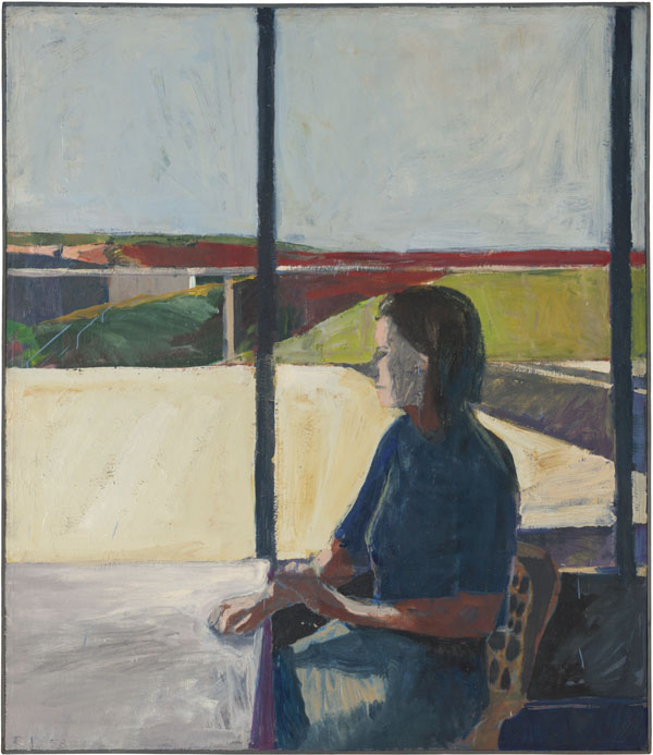 Richard Diebenkorn, Woman in Profile, 1958