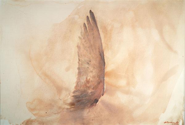 Nathan Oliveira, Santa Fe Wing, 1987