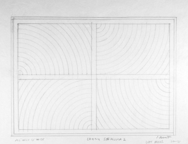 Sol Lewitt_Working Drawing