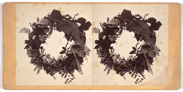 Eadweard Muybridge, Untitled [Wreaths], n.d.