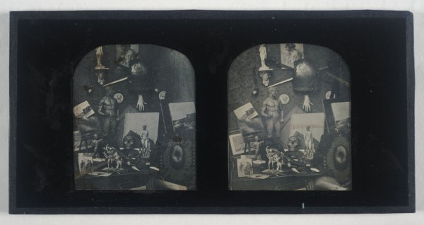 Diane Ward on a Stereo Daguerreotype of Artist's Paraphernalia, by an Unknown Photographer