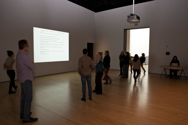 Dora García, Instant Narrative, 2006-2008