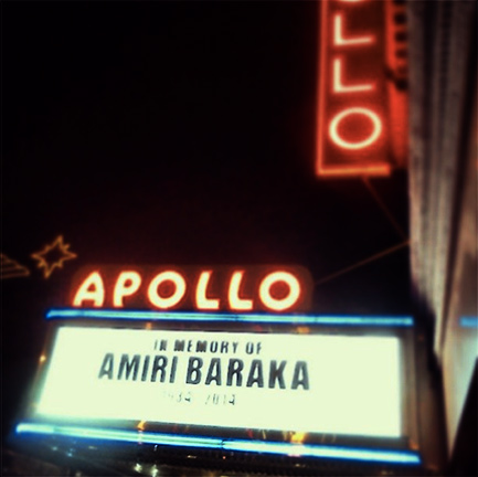 Amiri Baraka Will Be Missed
