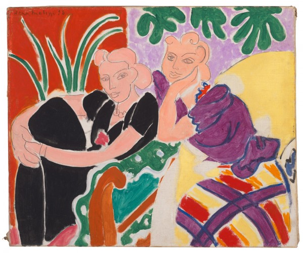 "Matisse's Couture Closet and ""La Conversation"""