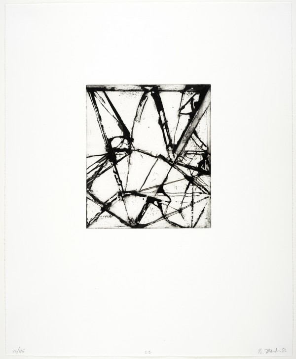 Brice Marden, Etchings to Rexroth, 1986
