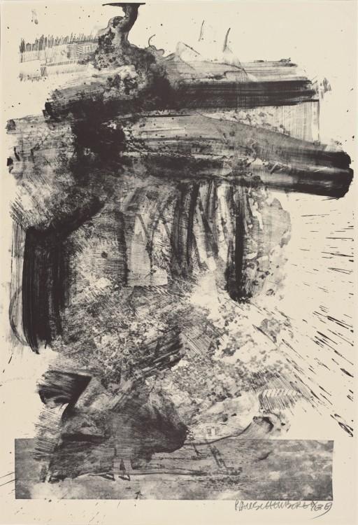 Robert Rauschenberg, Fuse (Stoned Moon), 1969