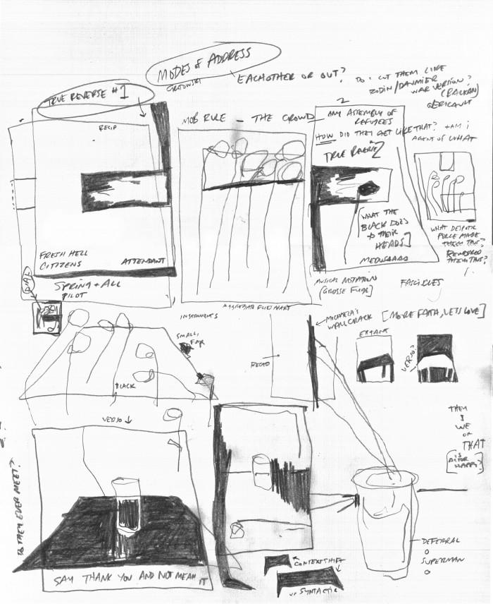 Dana DeGiulo, Painting Notes (For the Chronic), 2016