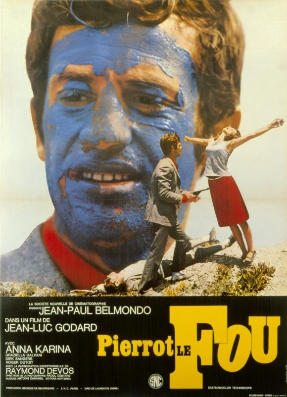 pierrot-le-fou-french-Poster