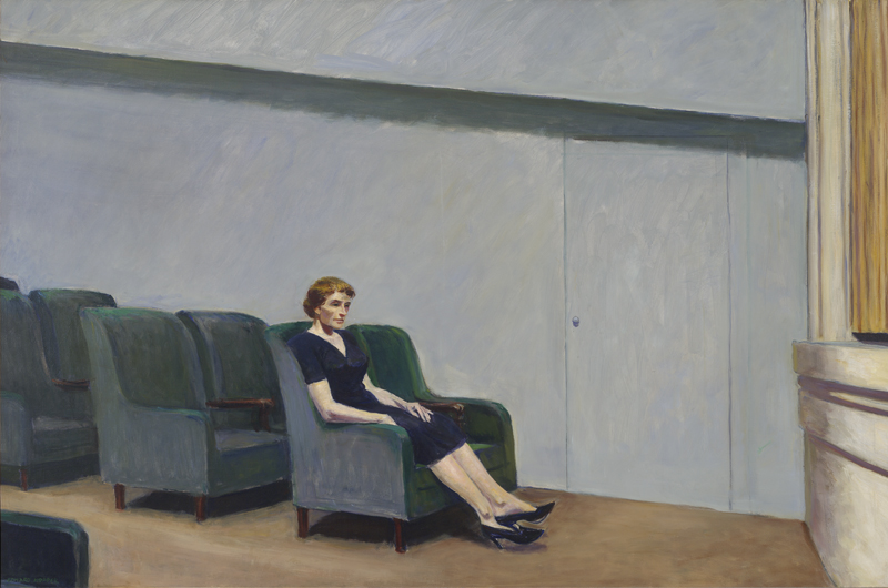 Paris in Hopper and Back