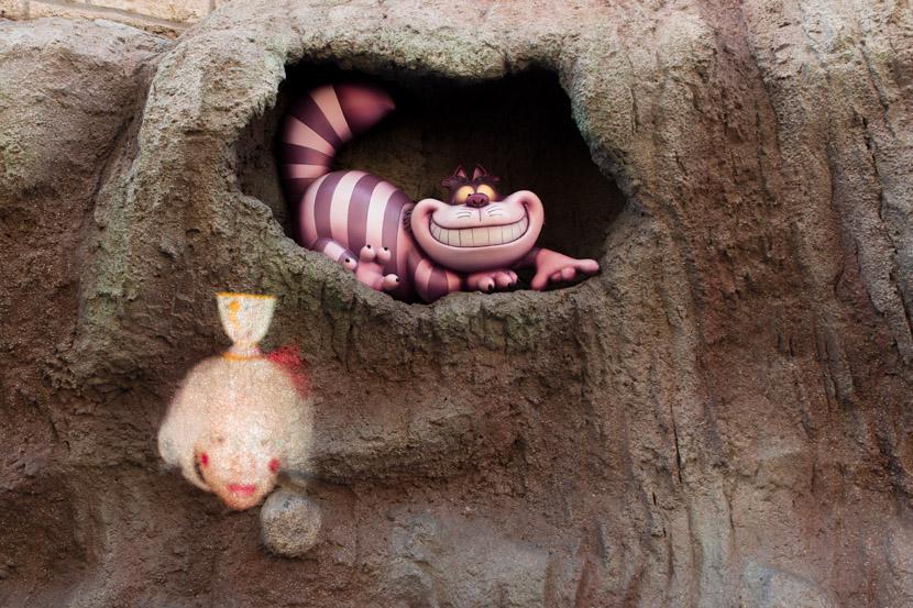 Mad Tea Party, Alice in Wonderland, Fantasyland