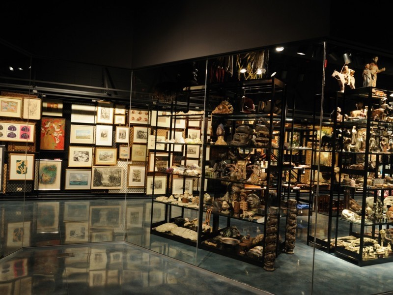 Visible Storage, Museum of Art and Sciences in Daytona Beach, Florida
